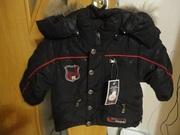 курточка зимняя детская