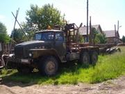 Урал 375 лесовоз Урал 375 лесовоз