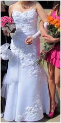 Продам свадебное платье (рыбка) + сумочка в подарок.
